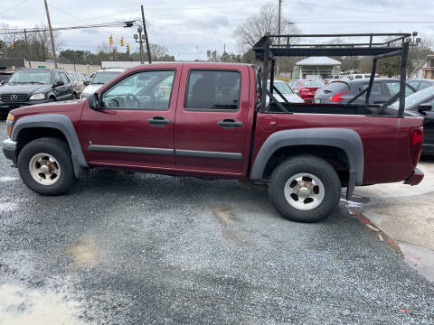 2007 Chevrolet Colorado for sale at LAURINBURG AUTO SALES in Laurinburg NC