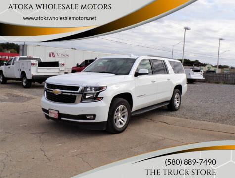 2018 Chevrolet Suburban for sale at ATOKA WHOLESALE MOTORS in Atoka OK