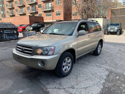 2003 Toyota Highlander for sale at Boston Auto Exchange in Boston MA