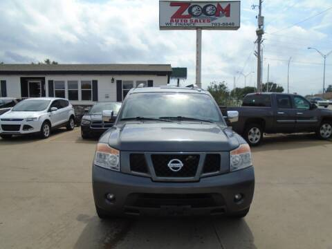 2012 Nissan Armada for sale at Zoom Auto Sales in Oklahoma City OK