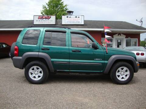 2004 Jeep Liberty for sale at G and G AUTO SALES in Merrill WI