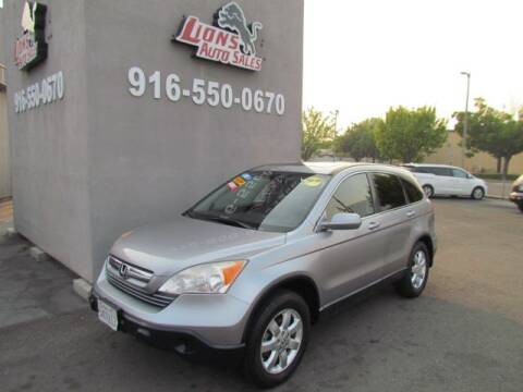 2007 Honda CR-V for sale at LIONS AUTO SALES in Sacramento CA