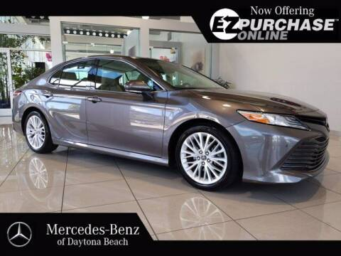 2018 Toyota Camry for sale at Mercedes-Benz of Daytona Beach in Daytona Beach FL