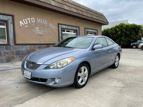 2005 Toyota Camry Solara for sale at Auto Hub, Inc. in Anaheim CA