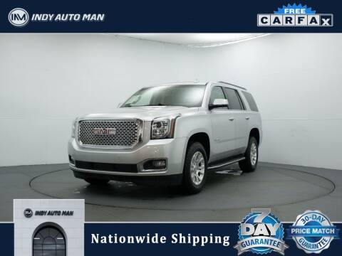 2015 GMC Yukon for sale at INDY AUTO MAN in Indianapolis IN
