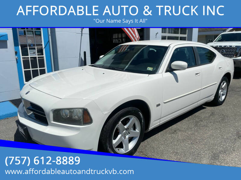 2010 Dodge Charger for sale at AFFORDABLE AUTO & TRUCK INC in Virginia Beach VA