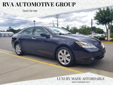 2009 Lexus ES 350 for sale at RVA Automotive Group in North Chesterfield VA