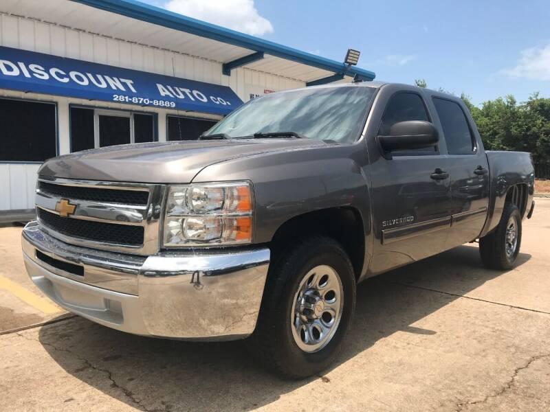 2012 Chevrolet Silverado 1500 for sale at Discount Auto Company in Houston TX
