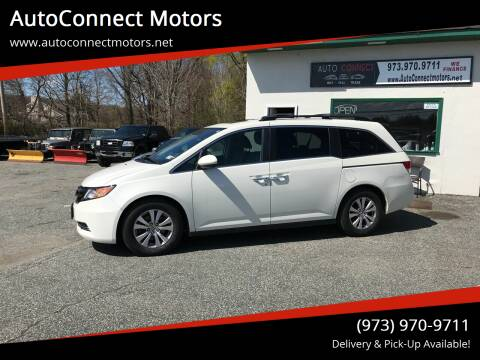2015 Honda Odyssey for sale at AutoConnect Motors in Kenvil NJ