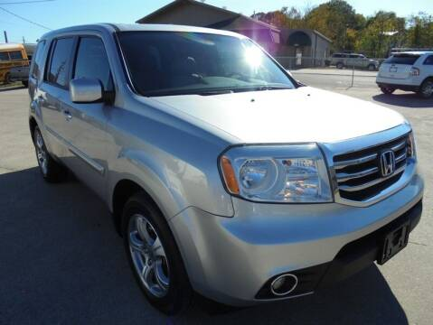 2014 Honda Pilot for sale at PIONEER AUTO SALES LLC in Cleveland TN