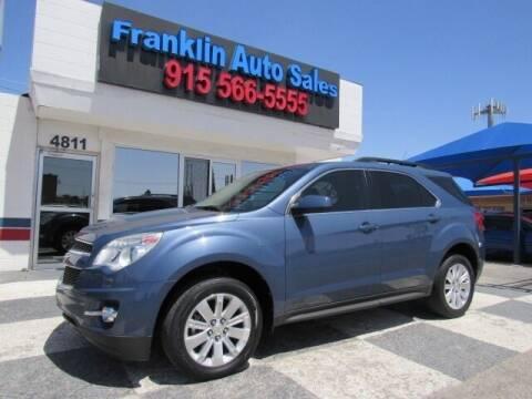 2011 Chevrolet Equinox for sale at Franklin Auto Sales in El Paso TX
