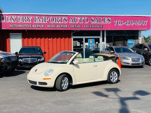 2007 Volkswagen New Beetle Convertible for sale at LUXURY IMPORTS AUTO SALES INC in North Branch MN