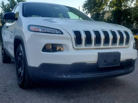 2016 Jeep Cherokee for sale at Wheel Deal Auto Sales LLC in Norfolk VA
