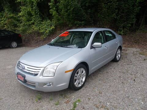 2006 Ford Fusion for sale at Dansville Radiator in Dansville NY