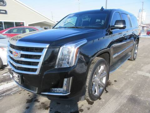 2015 Cadillac Escalade ESV for sale at Dam Auto Sales in Sioux City IA