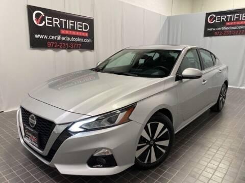 2019 Nissan Altima for sale at CERTIFIED AUTOPLEX INC in Dallas TX