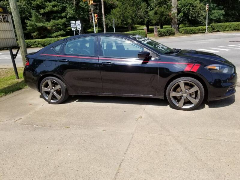 2016 Dodge Dart for sale at Action Auto Sales in Parkersburg WV