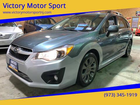 2012 Subaru Impreza for sale at Victory Motor Sport in Paterson NJ