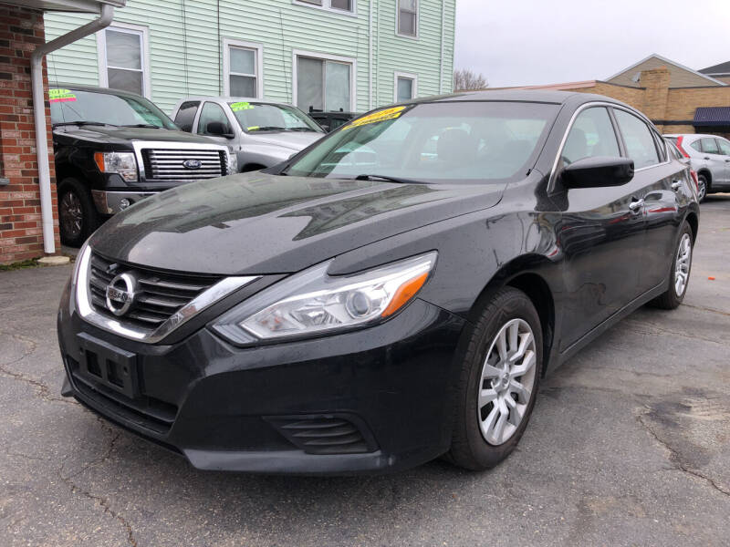 2016 Nissan Altima for sale at Commercial Street Auto Sales in Lynn MA