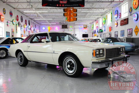 1976 Buick Regal for sale at Classics and Beyond Auto Gallery in Wayne MI