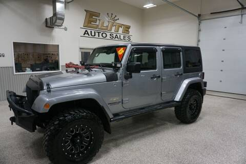 2013 Jeep Wrangler Unlimited for sale at Elite Auto Sales in Ammon ID