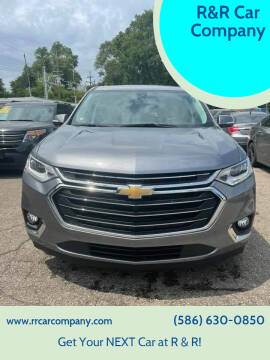 2018 Chevrolet Traverse for sale at R&R Car Company in Mount Clemens MI