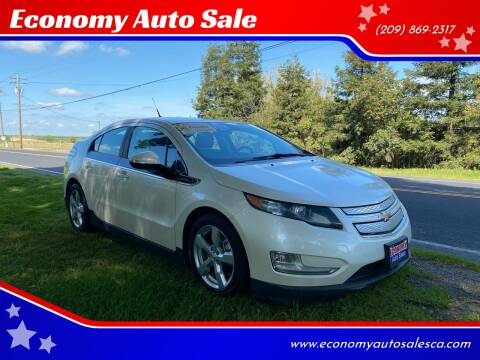 2013 Chevrolet Volt for sale at Economy Auto Sale in Modesto CA