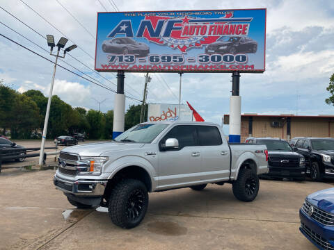2019 Ford F-150 for sale at ANF AUTO FINANCE in Houston TX