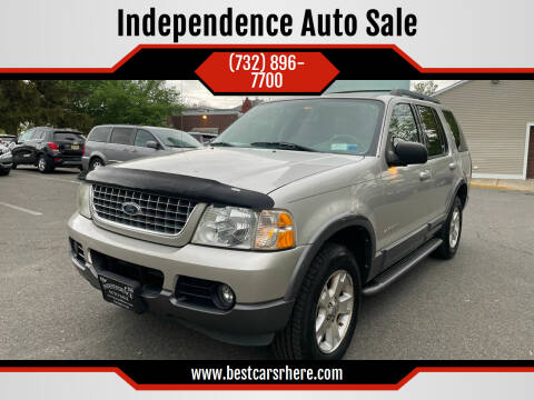 2005 Ford Explorer for sale at Independence Auto Sale in Bordentown NJ