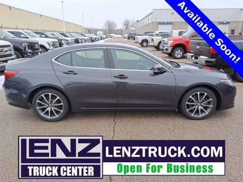 2016 Acura TLX for sale at LENZ TRUCK CENTER in Fond Du Lac WI