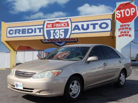 2002 Toyota Camry for sale at Buy Here Pay Here Lawton.com in Lawton OK