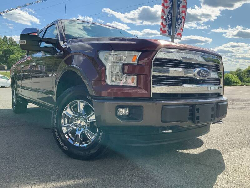2015 Ford F-150 for sale at Bailey's Pre-Owned Autos in Anmoore WV