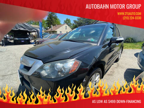 2011 Acura RDX for sale at Autobahn Motor Group in Willow Grove PA