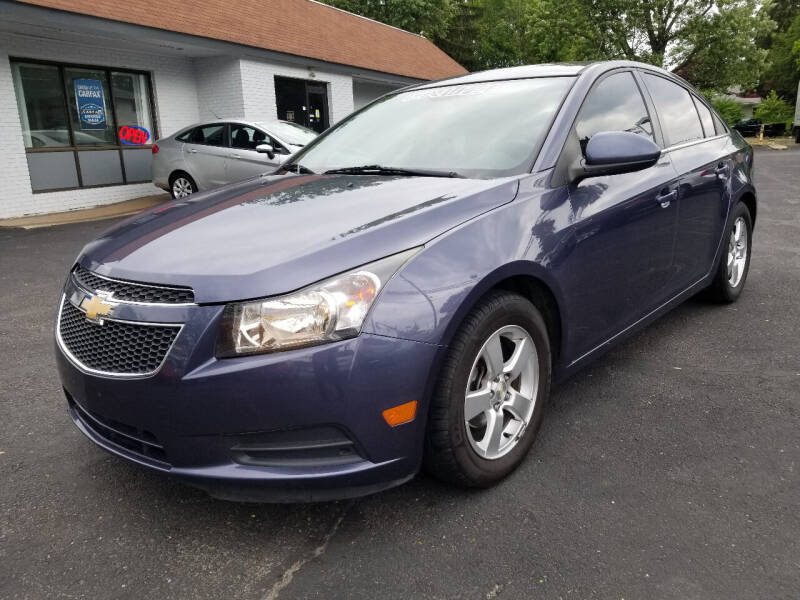 2014 Chevrolet Cruze for sale at Cedar Auto Group LLC in Akron OH