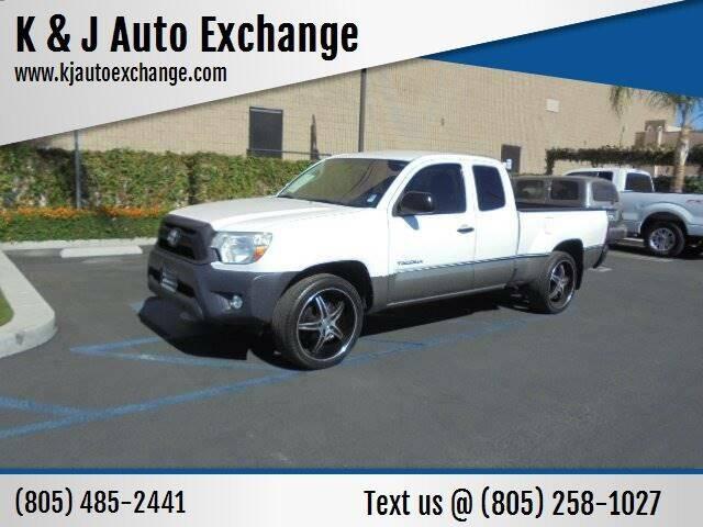 2012 Toyota Tacoma for sale at K & J Auto Exchange in Santa Paula CA
