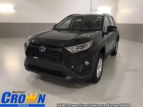 2021 Toyota RAV4 Hybrid for sale at Crown Automotive of Lawrence Kansas in Lawrence KS