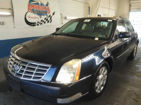 2008 Cadillac DTS for sale at Cj king of car loans/JJ's Best Auto Sales in Troy MI