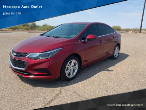 2017 Chevrolet Cruze for sale at Maricopa Auto Outlet in Maricopa AZ