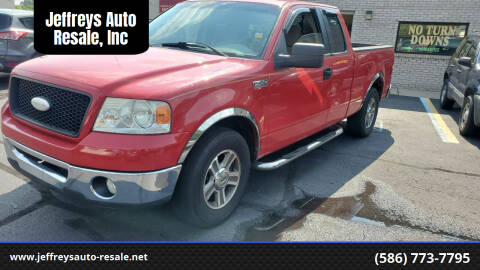 2006 Ford F-150 for sale at Jeffreys Auto Resale, Inc in Clinton Township MI