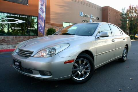 2004 Lexus ES 330 for sale at CK Motors in Murrieta CA