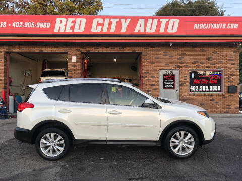 2014 Toyota RAV4 for sale at Red City  Auto in Omaha NE