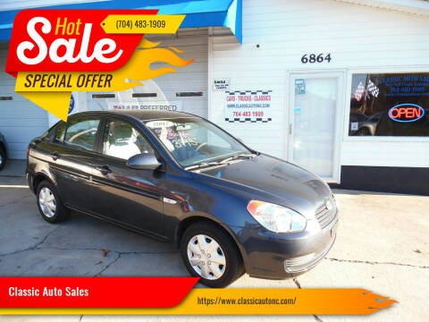 2007 Hyundai Accent for sale at Classic Auto Sales in Maiden NC