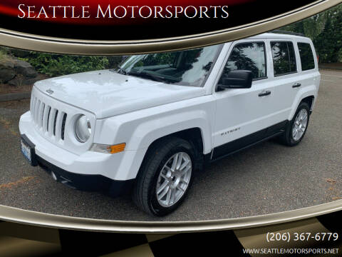 2016 Jeep Patriot for sale at Seattle Motorsports in Shoreline WA