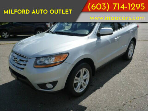 2010 Hyundai Santa Fe for sale at Milford Auto Outlet in Milford NH