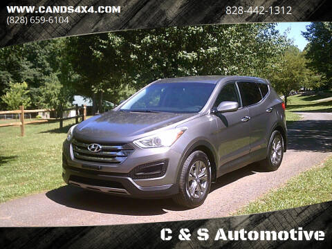 2013 Hyundai Santa Fe Sport for sale at C & S Automotive in Nebo NC