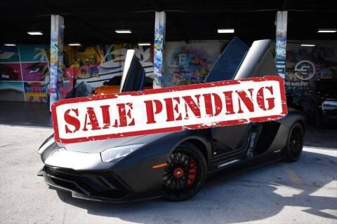 2018 Lamborghini Aventador for sale at STS Automotive - Miami, FL in Miami FL