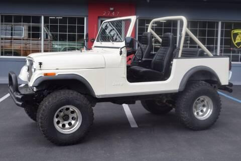 1981 Jeep CJ-7 for sale at Gulf Coast Exotic Auto in Biloxi MS