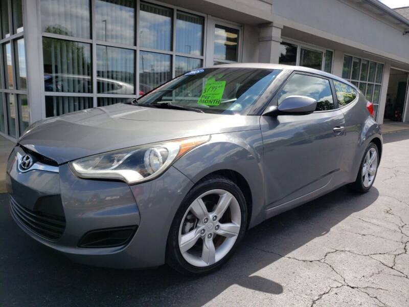 2015 Hyundai Veloster for sale at STRUTHER'S AUTO MALL in Austintown OH