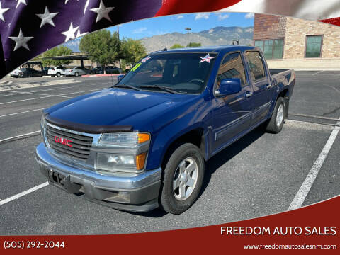 2011 GMC Canyon for sale at Freedom Auto Sales in Albuquerque NM