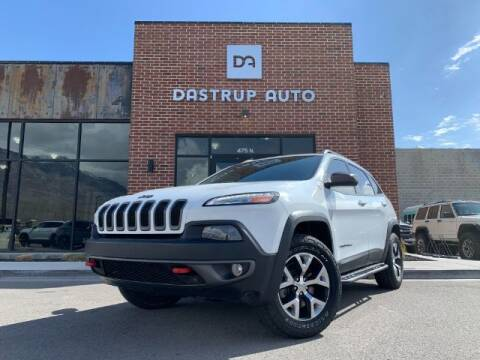 2015 Jeep Cherokee for sale at Dastrup Auto in Lindon UT